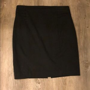 Black Pencil Skirt, Like New